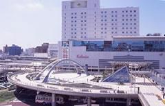 豊橋駅・ペデストリアンデッキの画像