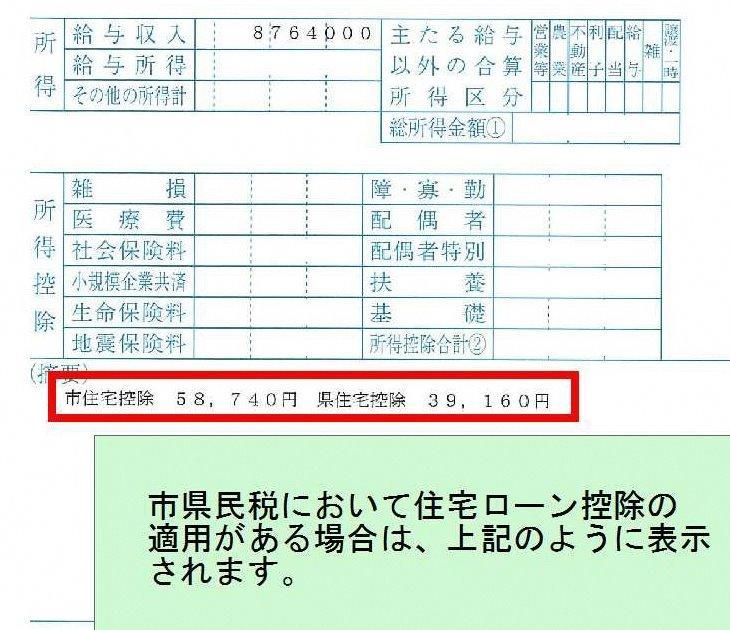 税 徴収 税額 通知 書 税 特別 県民 市民